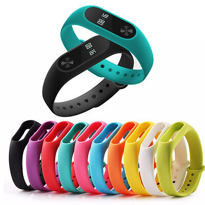 Colorful Waterproof Strap | Scratch Resistant for Xiaomi Mi Band 2 | Free Ship