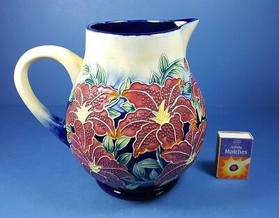 "Old Tupton Ware 7"" Water Jug - Floral Design"