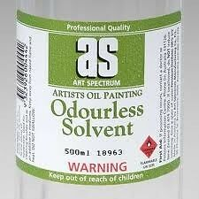 Art Spectrum Odourless Solvent. Choose your size.