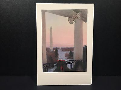 White House Christmas Card 2008 President George W Bush Laura Official