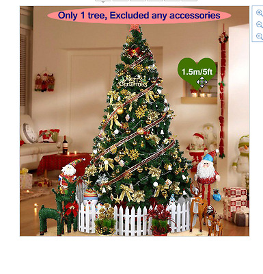 New 150CM Artificial Christmas Tree Christmas Decorations Decorated Holiday