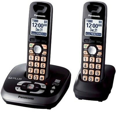 Panasonic Kx-Tg4033 Home Phone System DECT6.0 With 3 Handsets