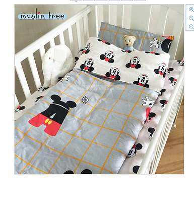 New Nursery Bedding Ins crib bed 100% cottotton 3pcs baby Bedding set include