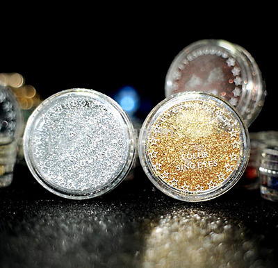 Pro Beauty Makeup Multicolored Pigment Loose Powder Shimmer Glitter Eyeshadow