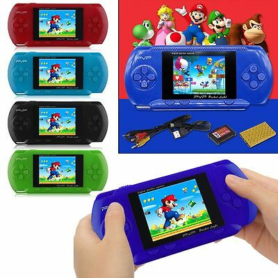PSP Color PVP 3000 Portable 39 Games Plants*Zombies For Mario Game Consoles Suit