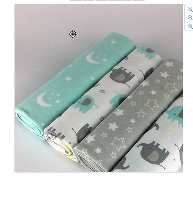 New Nursery Bedding 4pcs/pack 100%cotton flannel baby blanket receiving newborn