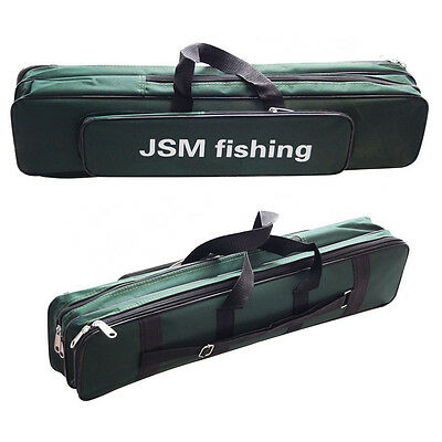 Oxford Waterproof Fishing Bag Fishing Rod Case Storage Carrier Tackle Bag Cases