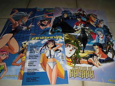 12 : ANIMANIA 42 ( November / Dezember 2001 ) + 2 Poster , Manga , Anime , Games