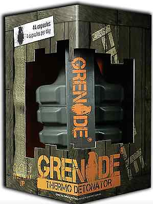 GRENADE thermo detonator 44/100 caps weight loss fat burner FAST DELIVERY