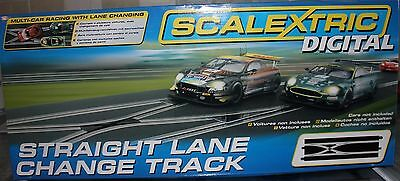 C7036 Scalextric Slot Cars Digital Straight Lane Change Track Brand New & Boxed