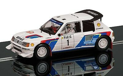 C3591A Scalextric Slot Car Classic Collection Peugeot 205 T16 Limited Edition UK