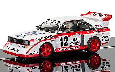 C3750 Scalextric Slot Car Audi Sport Quattro E2 Swedish Rally Cross 1990 - Boxed