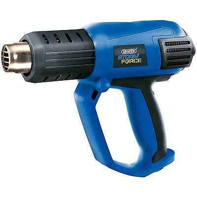 Draper Storm Force Hot Air Heat Gun Paint Stripping Power Tool (2000W)