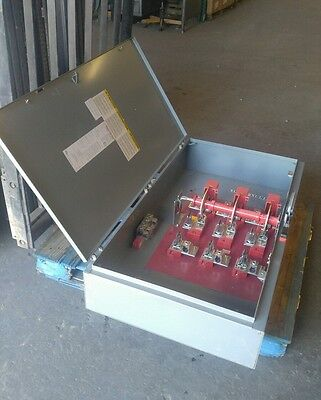 Square D H325N 400 Amp 240 Volt Type 1 Fusible Disconnect Safety Switch