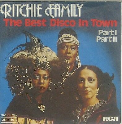 Ritchie Family  the best disco im town Part I II