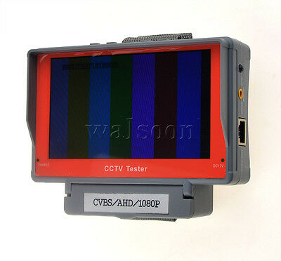 5 inch LCD 1080P CVBS AHD Security CCTV Camera Tester Monitor Network Cable Test