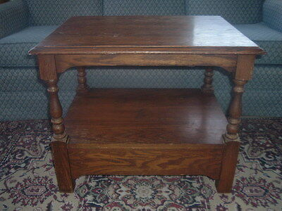 Vtg Pennsylvania House Small Wood End Table~Old Stand w/Drawer~$95 to 8 States