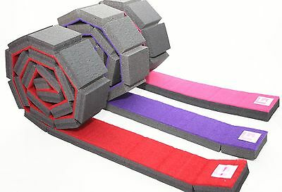 Gymnastic Beam Roll Out Carpet Topped 8Ft Long Gym Factor Ltd
