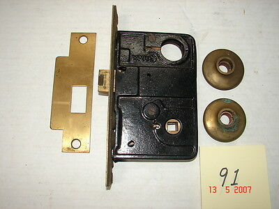 Vintage YALE Industrial Mortise Lock with Parts - NOS - # 91