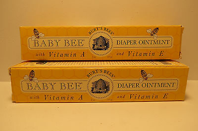 Lot of 2 Burt's Bees Baby Bee Diaper Ointment, 2 oz each