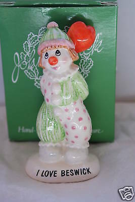 I LOVE BESWICK LIMITED EDITION OF 442 LITTLE LOVABLES MIB 10th ANNIVERSARY