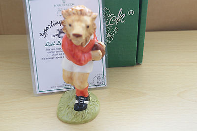 Last Lion Of Defence Rugby Sc2 Sporting Characters  Limited Beswick Mib