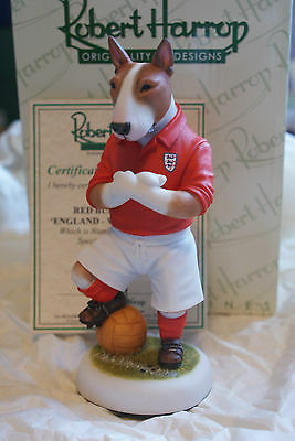 Dpwc01 Red Bull Terrier  England World Cup 1966 Special Robert Harrop Mib