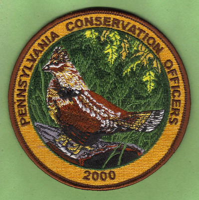 Pa Fish Game Commission NEW Pennsylvania Conservation Officers 2000 Grouse Patch