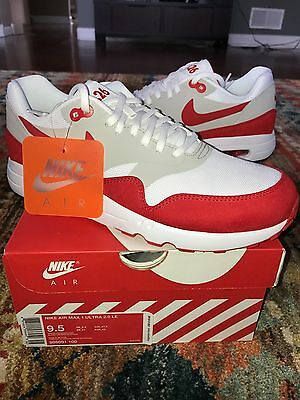 official photos bcef1 41beb ... cheapest nike air max 1 ultra 2.0 le air max day 3.26 red 908091 100  size