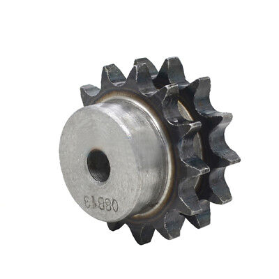 #40 Chain Drive Sprocket 20T Double Row/Strand Pitch 12.7mm 08B20T Sprocket