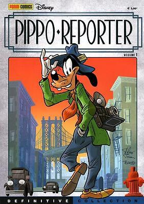 PIPPO REPORTER DEFINITIVE COLLECTION n. 1 Panini Disney