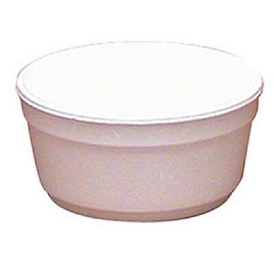 Styro 8FC styrofoam 8 ounce food liquid insulated container bowl 500 count