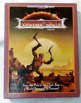 Dark Sun - Boxed Set - Advanced Dungeons & Dragons - 2nd Edition - TSR 1991