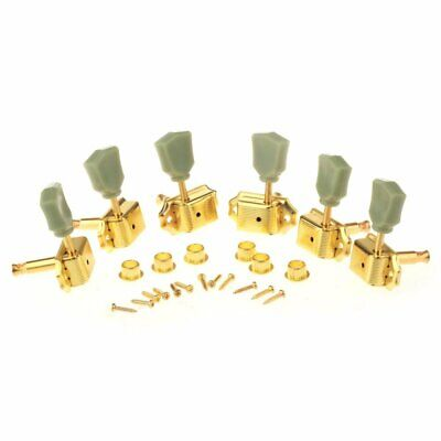 3+3 Guitar Tuner Tuning Pegs Key Machine Head Vintage Les Paul, Gold