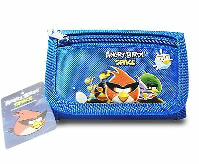 Angry Birds Space Trifold Wallet - Blue