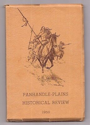 J. Evetts Haley  H. D. Bugbee 1950!  Panhandle-Plains Historical Review  Rare
