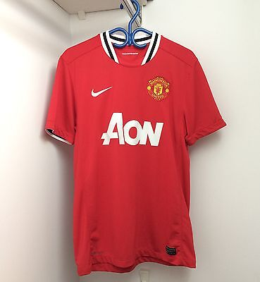Nike Manchester United 2011/12 Home Jersey Medium Short Sleeve SS