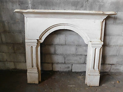 Antique Victorian Style Fireplace Mantel - C. 1860 Fir Architectural Salvage