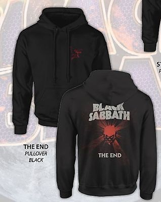 BLACK SABBATH The End Concert Tour Hoodie Small