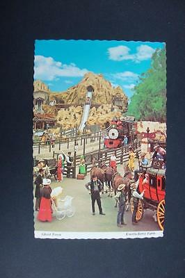 321) Buena Park California Knott's Berry Farm And The Ghost Town Calico Square