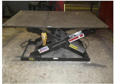 Autoquip series 35 electric/hydraulic lift tables 110v