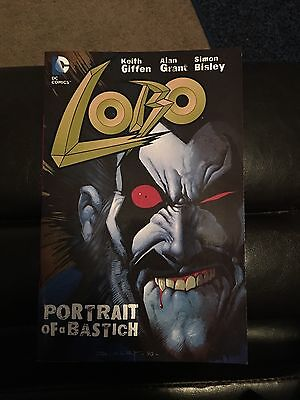 Lobo: Portrait of a Bastich. Lobo DC1990 issues 1-4 in one.