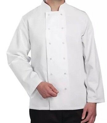 Whites Vegas Chefs Jacket Long Sleeve L - A134-L 44-46 Inch Chest