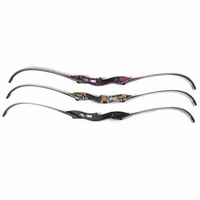 56inches 50lbs Black American Hunting Bow Outdoor Archery Bow Long Bow