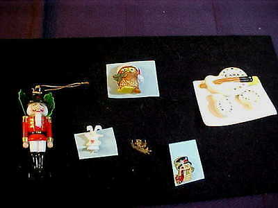 8pc Adorable Christmas Pins/Brooches/Ornament Plus-Free Shipping