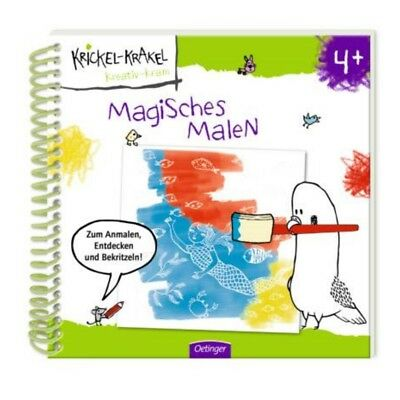 krickel-krakel Magic Paint Children's Coloring Book Creative Paint for Children
