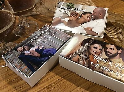 Personalised PHOTO Cake Boxes Christening Special Occasion 100x60x30 Wedding