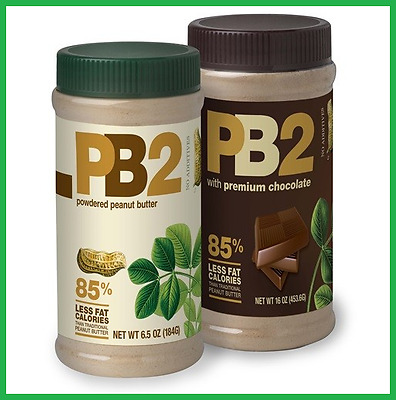 VALUE PACK: 2x PB2 COMBO Chocolate + Vanilla Natural Powdered Peanut Butter 184g