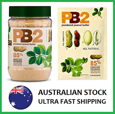 PB2 VANILLA Natural Powdered Peanut Butter 184g 6.5oz - AUS STOCK FAST SHIP