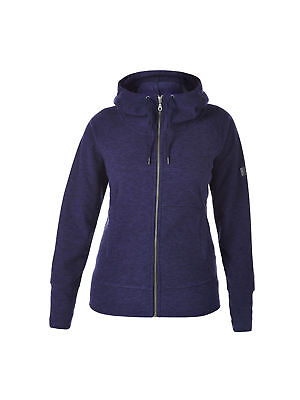 Berghaus Womens Carham Hooded Outdoor Warm Fleece Jacket in Dark Blue